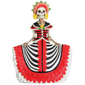 Figurine - Day of the Dead Red Senorita