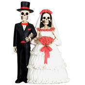 Figurine - Day of the Dead Wedding Couple
