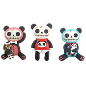 Furrybones Pandie Magnets- Set of 6