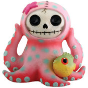Furrybones Figurine - Octopee