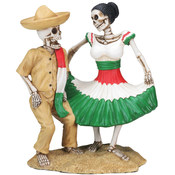 Figurine - Day of the Dead Dancing Skulls