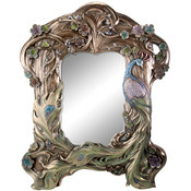 Peacock Mirror