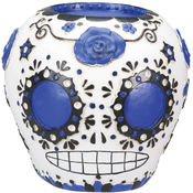 Day of the Dead Sugar Skull - Blue