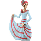 Figurine - Day of the Dead Dancing Senorita