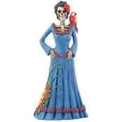 Figurine - Day of the Dead Blue Lady