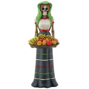 Day of the Dead Figurine- Fruit Lady