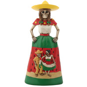 Day of the Dead Figurine- Sandia Senorita