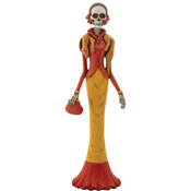 Day of the Dead Figurine- Lady with Fox