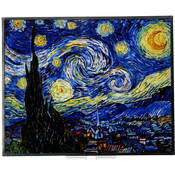 Art Glass- Van Gogh - Starry Night