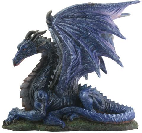 Wholesale Midnight Dragon Figurine (SKU 1221332) DollarDays