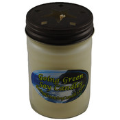 Holiday Happenings Soy Candle - 12 oz Jelly Jar