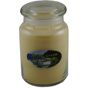 Fresh Cut Grass Soy Candle - 26oz Apothecary Jar