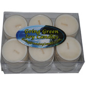 Cinnamon Spice Soy Candle Tealights - One Dozen