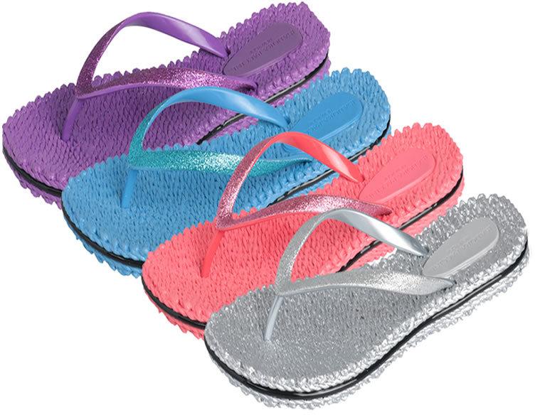 Isadora flip flops
