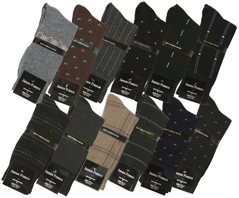 Goldstone Hosiery Co. Men's DRESS Socks 3-Pack - Size 10-13 [1883722]