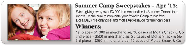 Summer Camp Sweepstakes