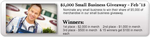 $5,000 Small Business Giveaway