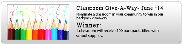 Classroom Giveaway