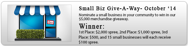 Small Biz Giveaway