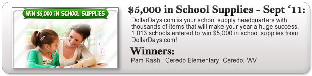 $5,000 School Supply Giveaway