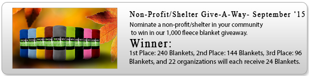 Non-Profit Shelter Giveaway