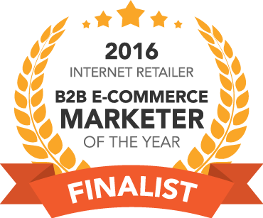 2016 Internet Retailer B2B E-Commerce Marketer of the Year Finalist