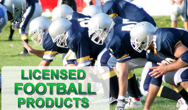 Wholesale Licensed Football Products