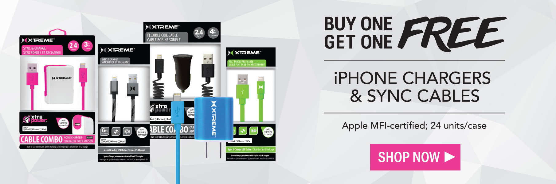 BOGO iPhone Cables