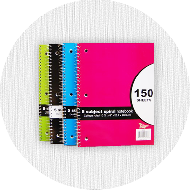 Notebooks and Composition Books