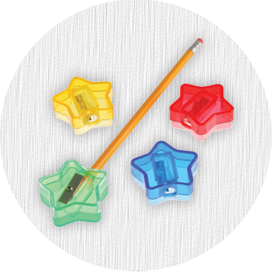 Pencils and Sharpeners