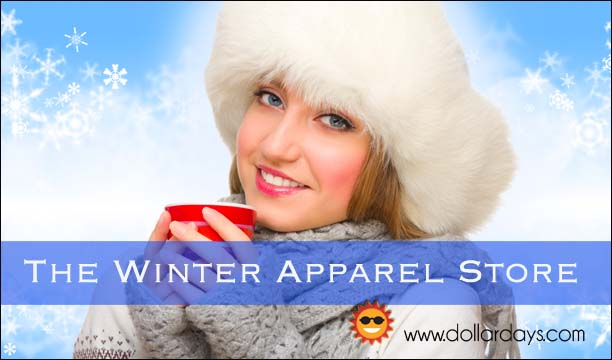 Thousands of wholesale winter apparel items for the entire family