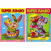Easter Super Jumbo Coloring Book