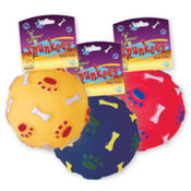 Spunkeez Dog Toys Vinyl Ball
