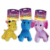 Spunkeez Plush Animal Dog Toys