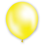 "12"" Fat Toad Pearl Yellow Balloons - 72 count"