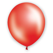 "12"" Fat Toad Pearl Red Balloons - 72 count"