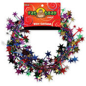 Fat Toad Multi-Color Stars Garland