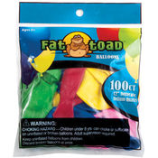 "3"" Fat Toad Assorted Water Balloons - 100 count"