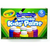 Crayola Washable Kids Paint (Set of 6)