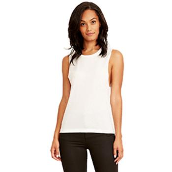 299299f0f24 Wholesale Next Level Women s Festival Muscle Tank - White - X-Small ...