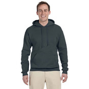 Jerzees 8 oz. 50/50 NuBlend® Fleece Pullover Hood | Black Heather - S