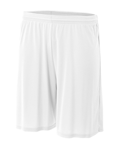 b5d1e3c0d6 Wholesale A4 Men's Nine Inch Performance Short - White - XXX-Large (SKU  2304735) DollarDays