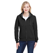 Fruit of the Loom Women's 7.2 oz. Sofspun® Full-Zip Hooded Sweatshirt - Black - Large