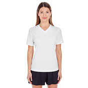Ladies' Zone Performance T-Shirt - White - 2XL