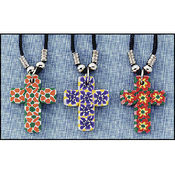 Clay Cross Necklace Asst