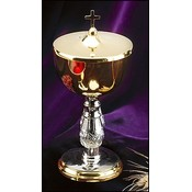 Ciborium with Cross Top