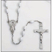White Miraculous Rosary