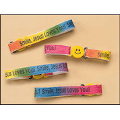 Smile Jesus Loves You Bracelet