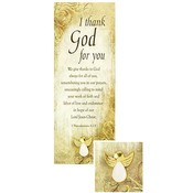 Appreciation Angel Dove Pin & Bookmark Set