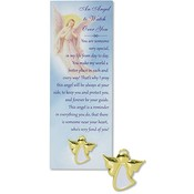 An Angel to Watch Over You Lapel Pin with Bookmark